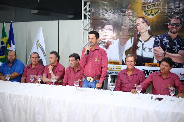 ARCA acaba de lançar Oficialmente a 20ª Expoac de Cacoal 2018