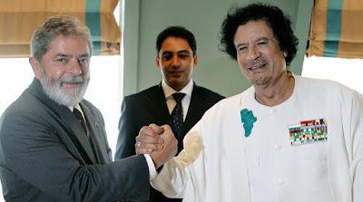 Kadafi abasteceu campanha de Lula com US$ 1 milhão
