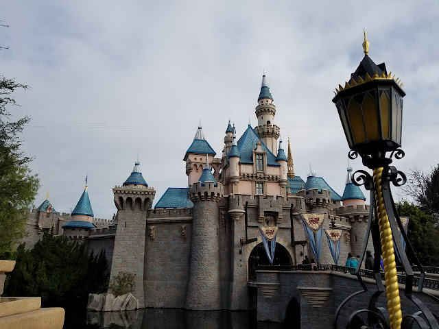 Sleeping Beauty's Castle at Disneyland Resort