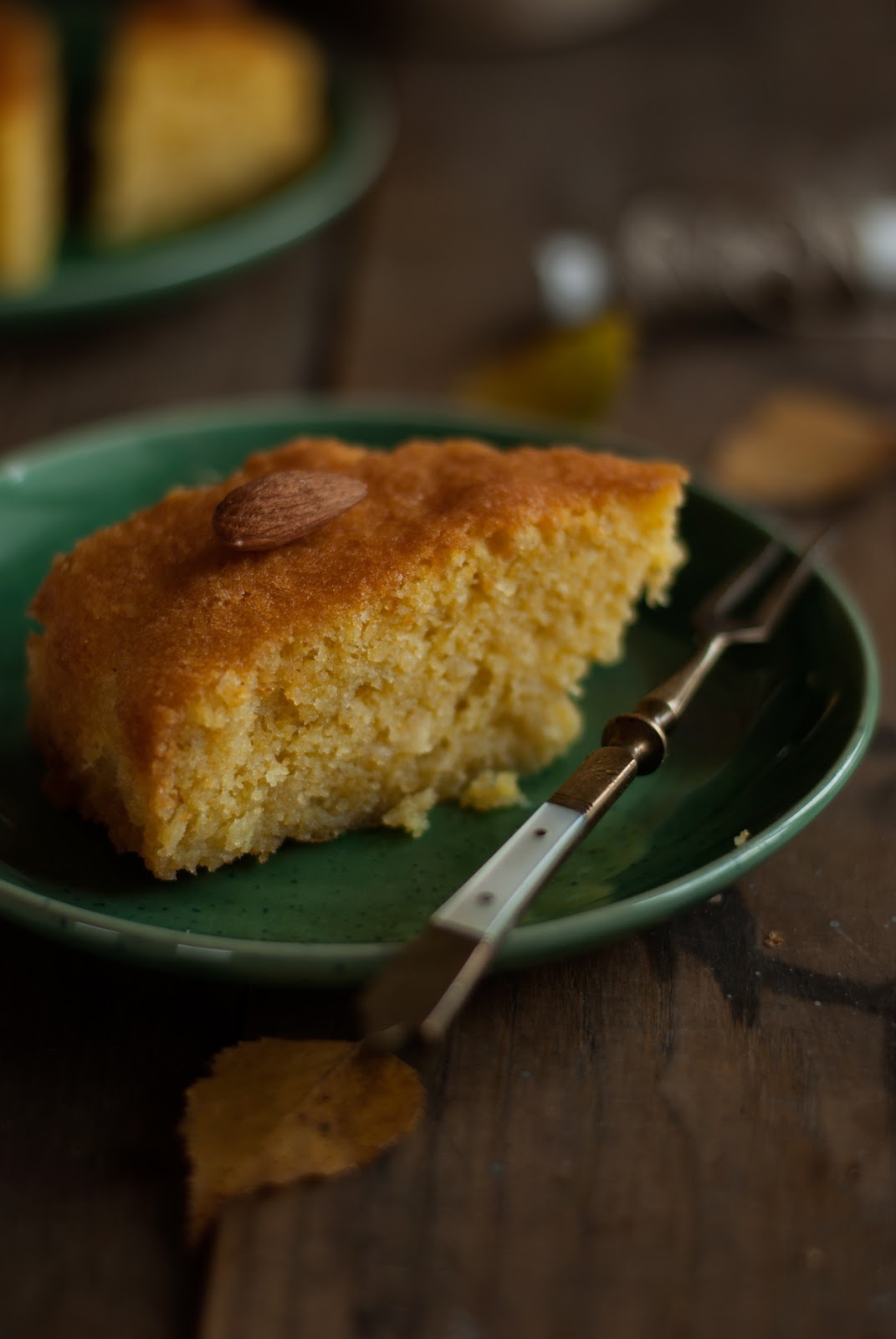 Bezglutenowe ciasto Revani z migdałami
