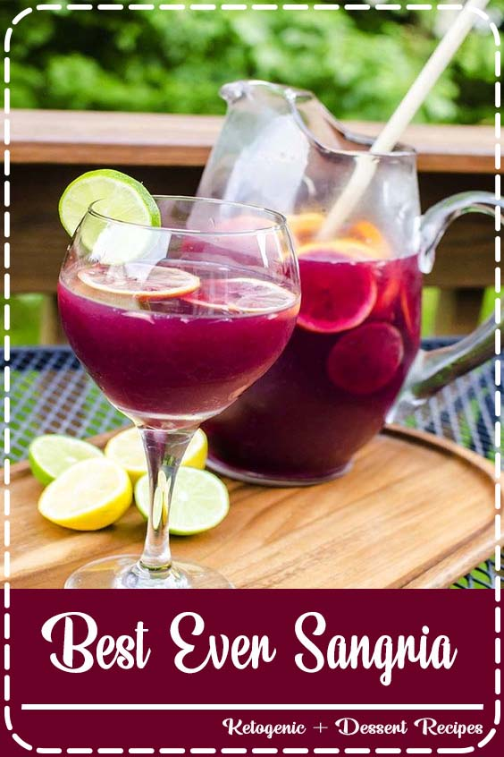 Easy and delicious classic red wine sangria recipe Best Ever Sangria