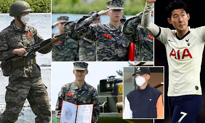 Son Heung-min military training service