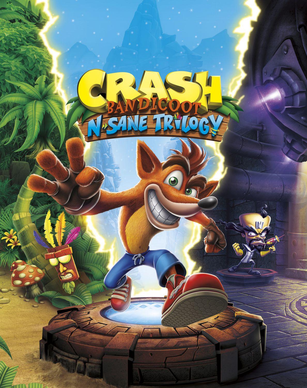 النسخة المحسنة من ثلاثية ألعاب المغامرات الشهيرة Crash Bandicoot N. Sane Trilogy