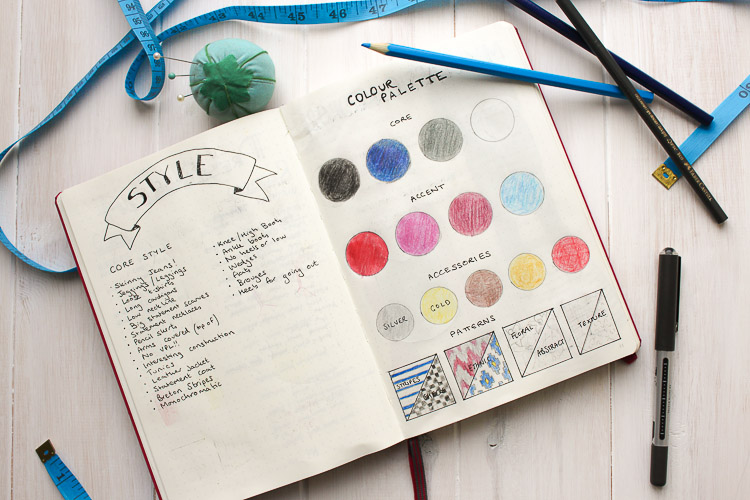 How I Use My Bullet Journal For Sewing Planning And More Sea