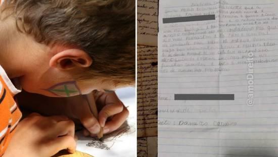 Juíza do Ceará atende criança que escreveu 'petição' para ter sobrenome do padrasto