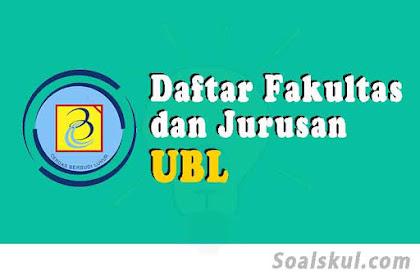 Daftar Fakultas Dan Jurusan Universitas Budi Luhur 2020 (TERBARU)