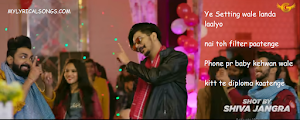 GULZAAR CHHANIWALA - RANDA PARTY LYRICS
