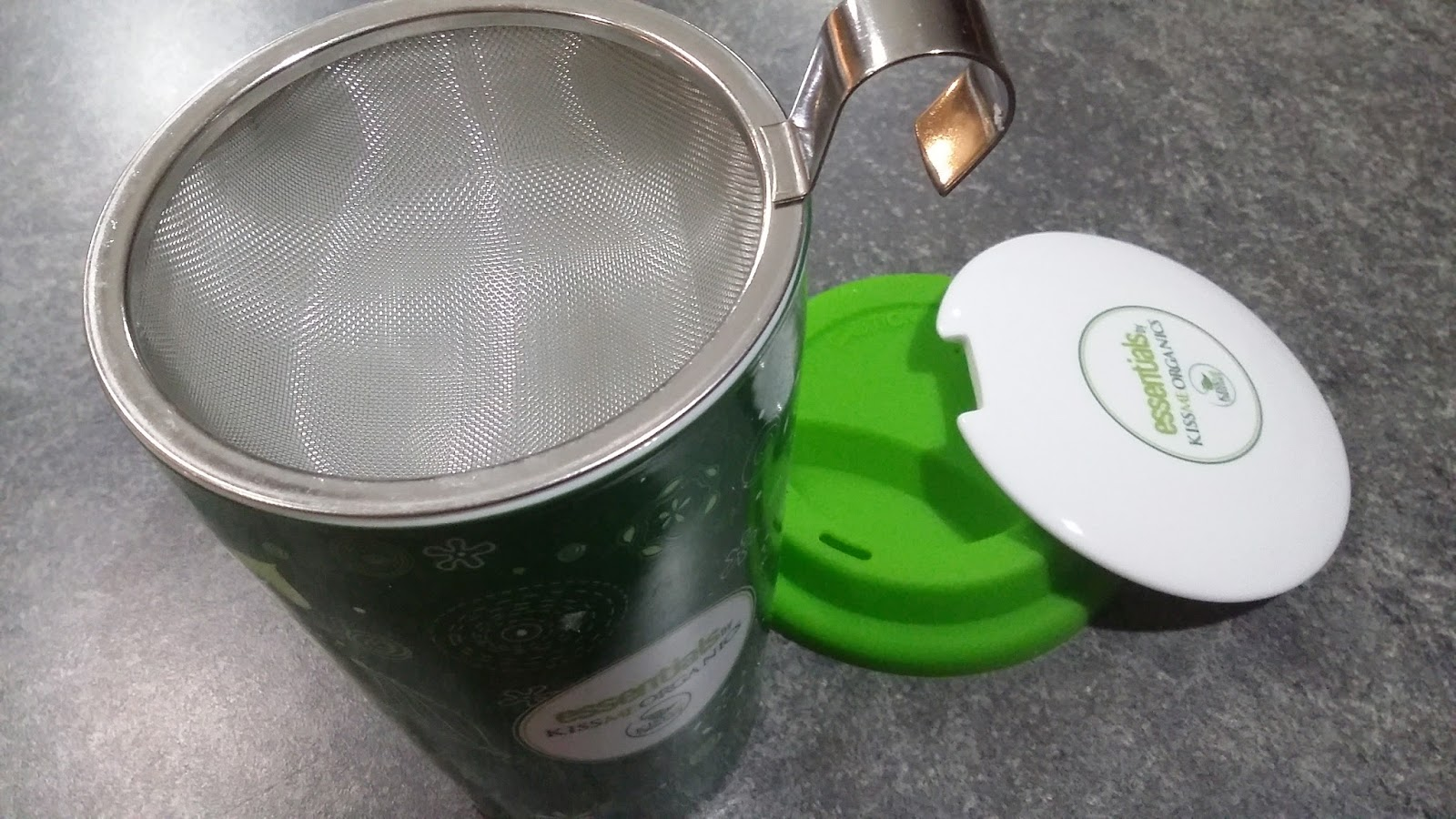 Tea Strainer Where You Can Drink While Steeping