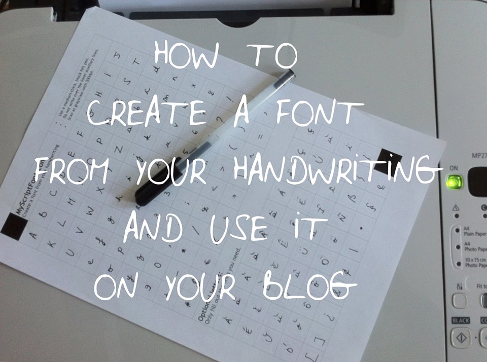 how to make a font of your handwriting, handwriting font, ravacholle belgium based lifestyle blog