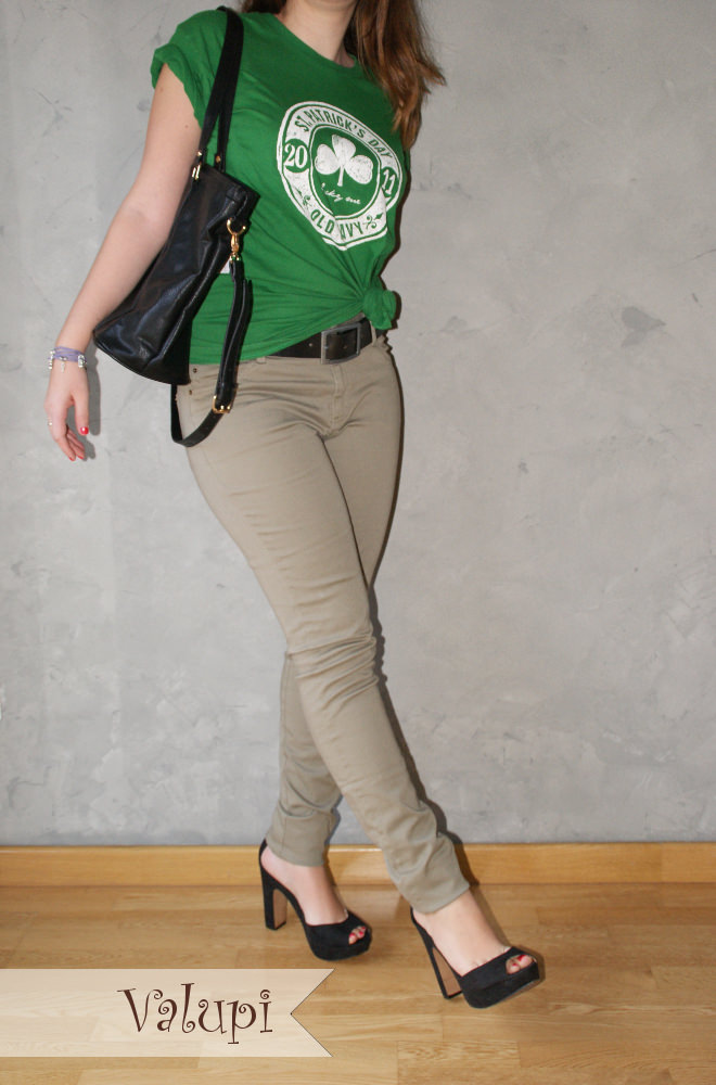 Valupi - Handmade with love  Outfit low cost  verde para celebrar ... a3e16acbf52