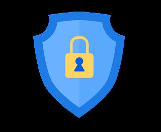 Imagen de logo azul politicas de privacidad