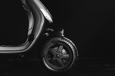 Vespa LX  Custom Front Fender by Butcher Garage