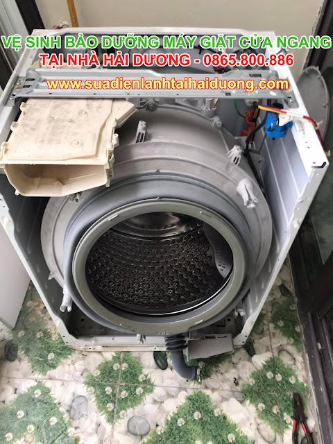 Vệ sinh Bảo dưỡng Máy Giặt tại Hải Dương Giá rẻ