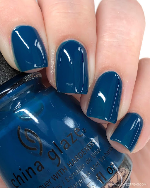 China Glaze Saved By The Blue Bell