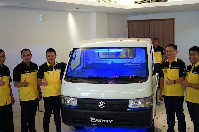 Launching Bersama Menejemen Suzuki Nusa Sarana Citra Bakti