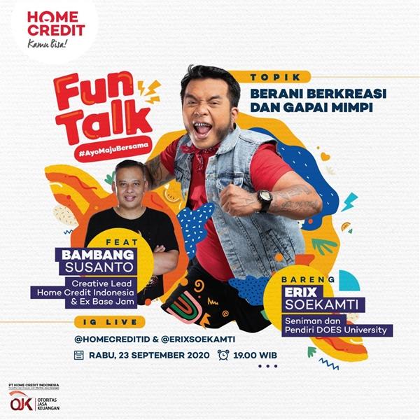 Fun Talk #AyoMajuBersama - Berani Berkreasi dan Gapai Mimpi
