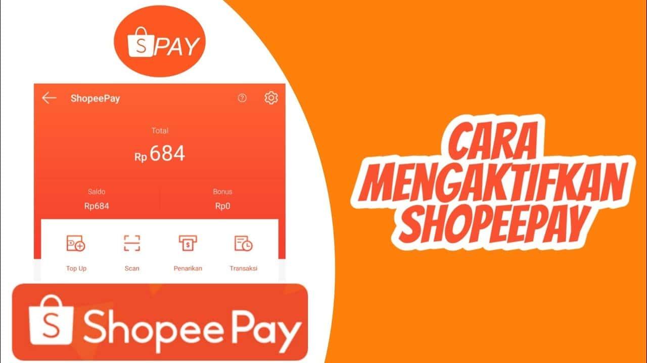 Cara Mengaktifkan ShopeePay Yang Diblokir / Dinonaktifkan Terbaru