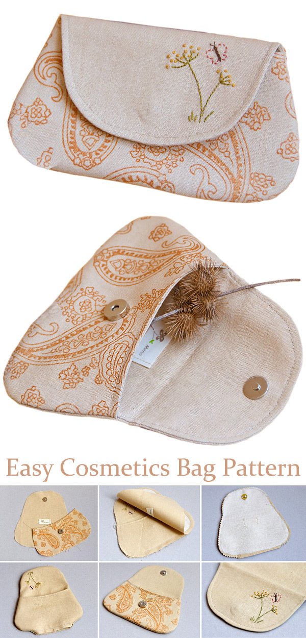 """Cosmetic Bag """"Country"""" Tutorial"""