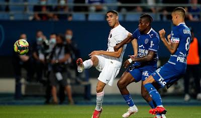 ملخص واهداف مباراة باريس سان جيرمان وتروا (2-1) الدوري الفرنسي