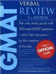 GMAT official review verbal section