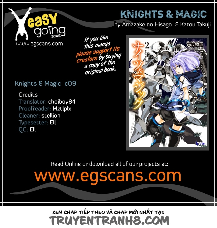 Knights & Magic chap 9 Trang 2 - Mangak.info
