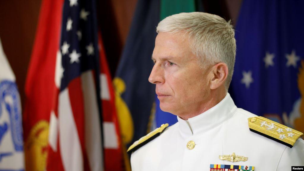 El jefe del Comando Sur de las Fuerzas Armadas de Estados Unidos, el almirante Craig Faller, en una imagen de archivo tomada en Miami (Florida), el 8 de marzo de 2020 / REUTERS