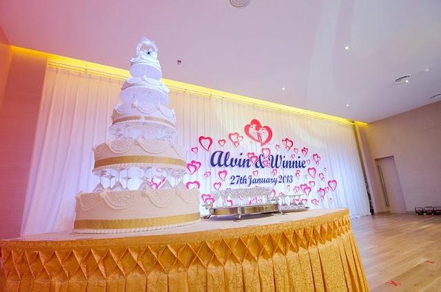 stage wedding