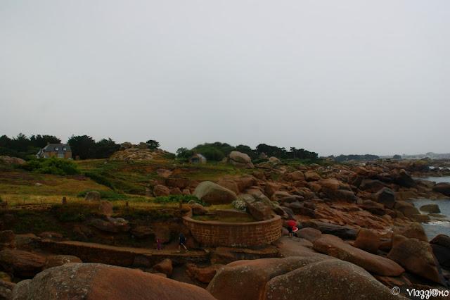 Vista panoramica sul sentiero dei doganieri