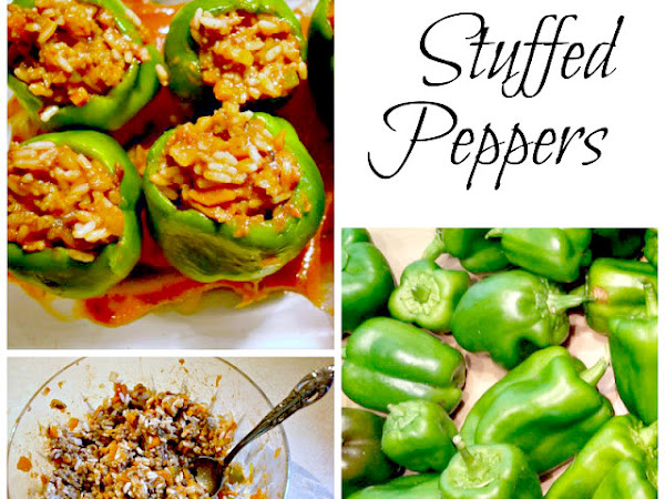 """A Twist on Stuffed Peppers (and other """"stuffed"""" stuff)"""