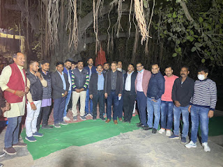 एन एम ओ ने आदिवासियों को सहभोज में कम्बल दिया | #NayaSaberaNetwork