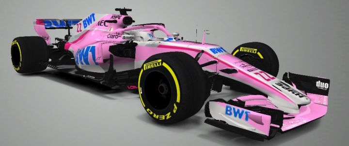 F1 Mobile Racing: 2018 Force India VJM11 Mercedes-Benz [VJM11] M&T