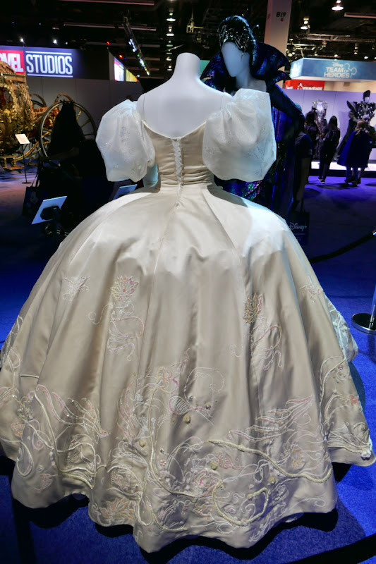 Enchanted Giselle movie gown back
