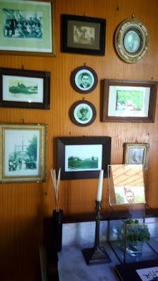Fotos e objetos da decoração do restaurante Pena em Amarante
