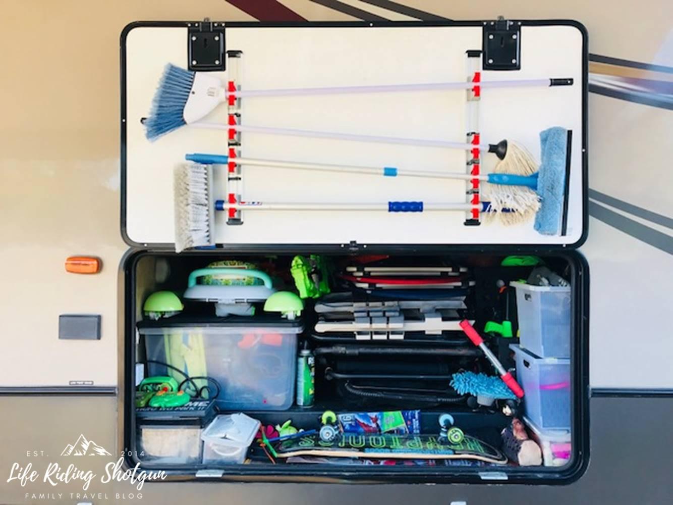 Rv Basement Storage Drawers