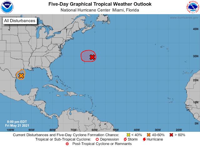 Aumenta probabilidad de ciclón en el Golfo de México