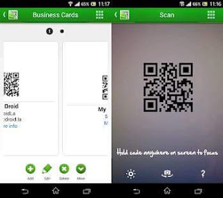 tricks for business card app for android