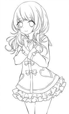 Anime Girl Base Ideas | Anime Body Base Drawings