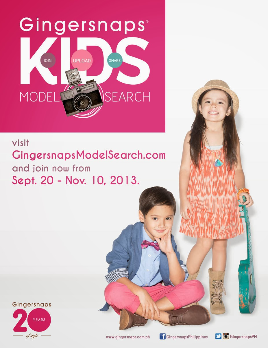 MrsMommyHolic: Join the Gingersnaps Kids Model Search