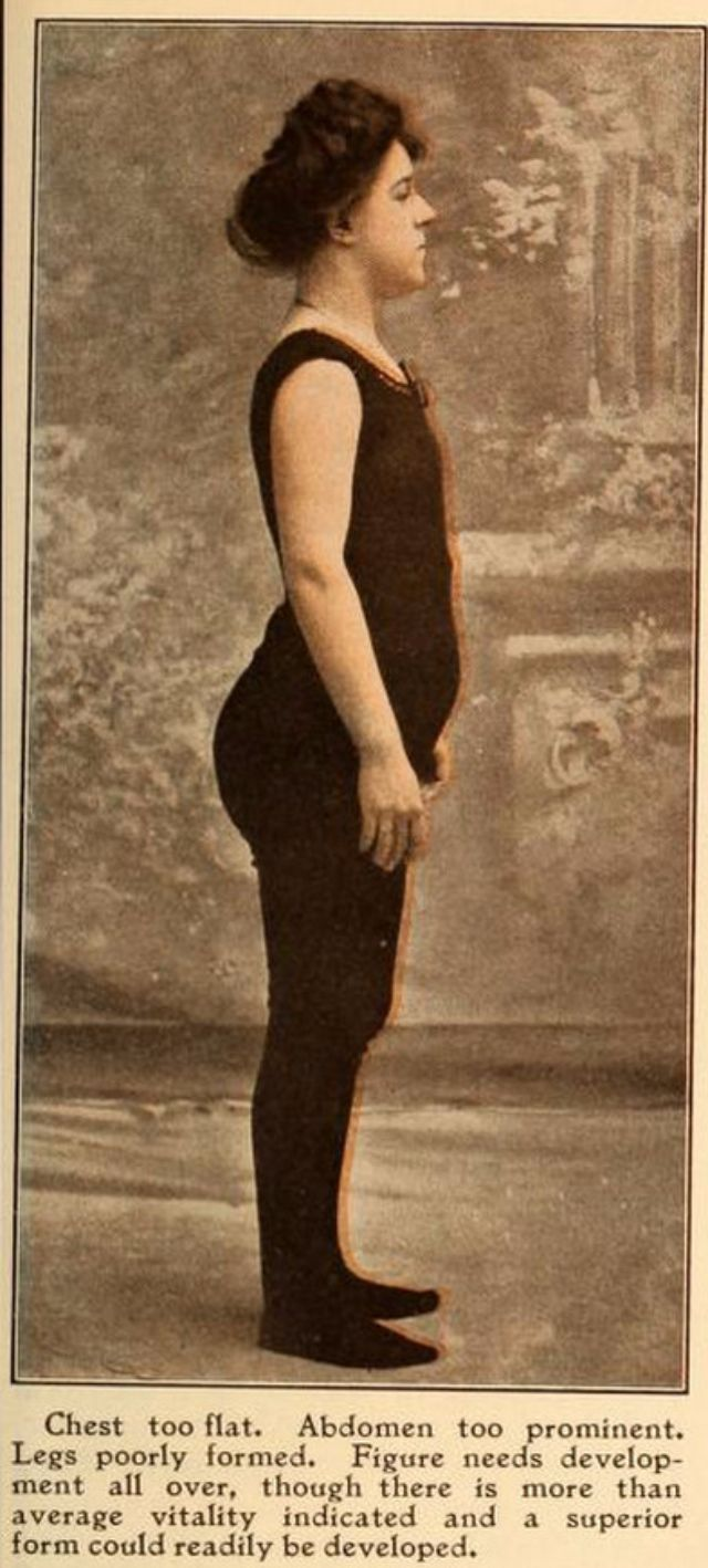 The Average American Woman In 1908 Vintage Everyday
