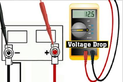 Pengertian Voltage Drop Dan Cara Mengatasinya