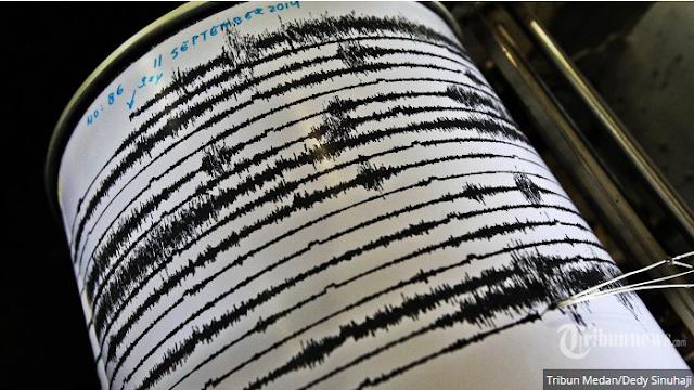 Gempa Kembali terjadi, Kali Ini Berpusat di Barat Daya Cilacap