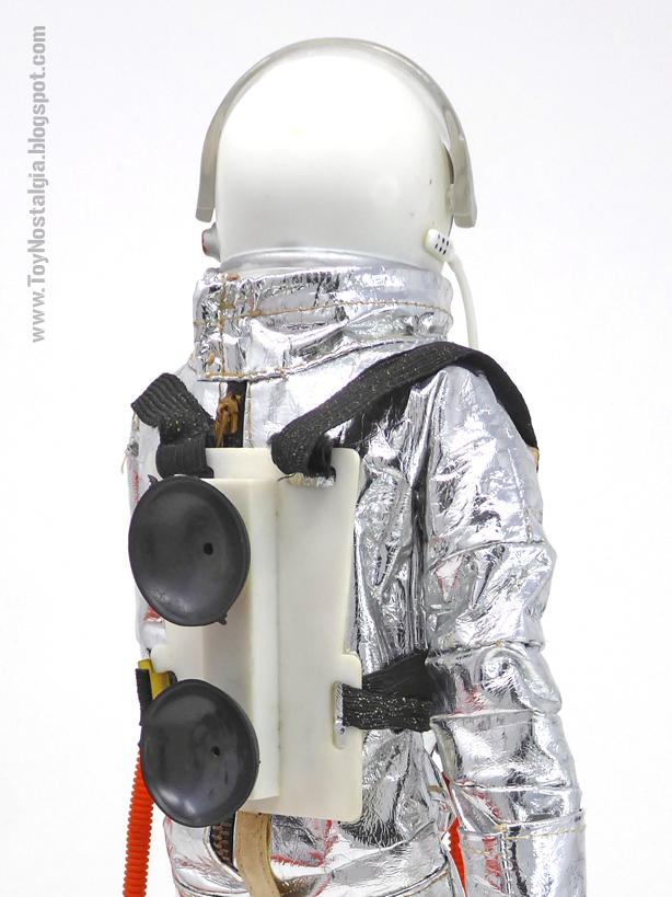 ACTIONMAN Astronauta Arnés trasero con ventosas (ACTION MAN ASTRONAUT  HASBRO-PALITOY)