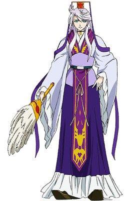 Tomokazu Seki como Shu Bi, magistrado del templo del destino