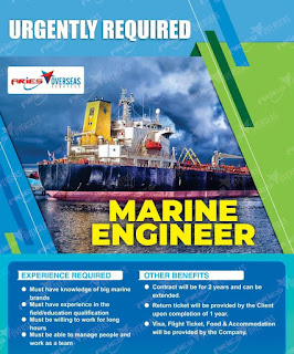 Leading Marine Engineering LLC UAE Requirement For ITI and Diploma Holders For Marine Electrician, Mechanic and Foreman | Telephonic Interview