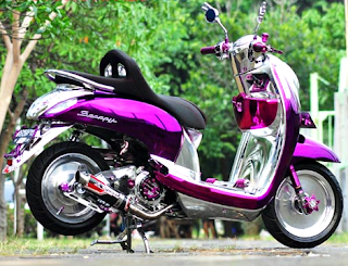modifikasi scoopy cantik