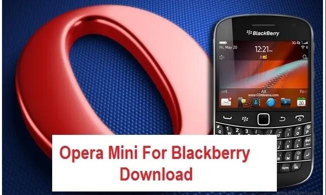 Opera Mini for black berry