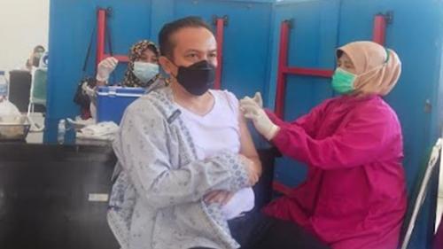86 Nakes di Pasar Disuntik Vaksin Moderna