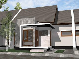 Contoh Desain Rumah Minimalis Type 36 Lengkap Dengan Interior