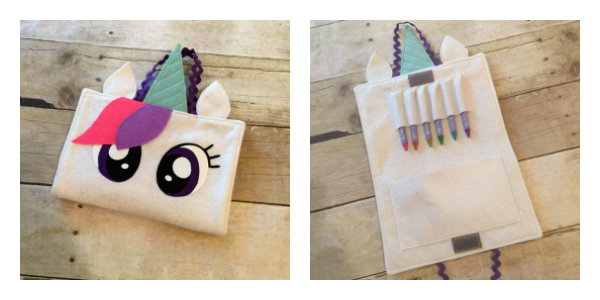 Unicorn Crayon Case