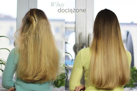 Włosy dociążone | Jak dociążyłam swoje włosy w ciągu jednego mycia - czytaj dalej »